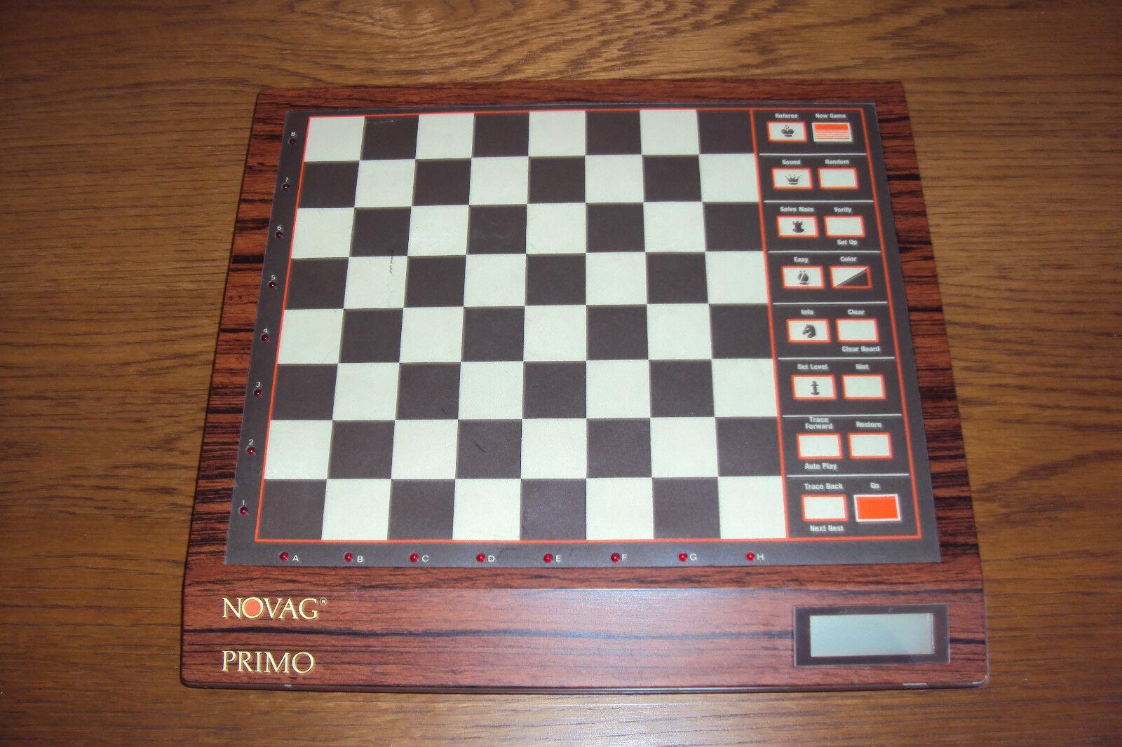 Novag Primo vintage Schachcomputer chess computer Schach 70er 70s 80er