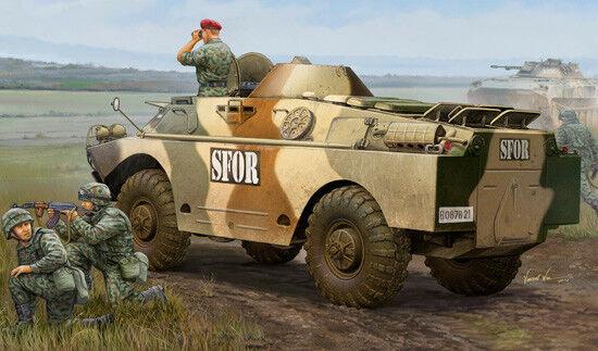 Trumpeter BRDM-2(LATE) Reconnaissance Vehicles Car Tank 05512 1 35 Scale Model
