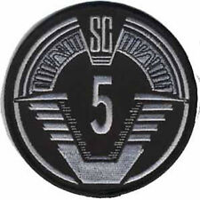 Stargate SG 1 Screen Accurate SG 5 Team Patch Embroidered Badge Sew/iron on 10cm