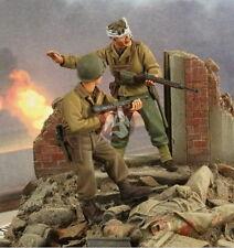 Verlinden 1/35 VP 2690 2 US Soldaten im Straßenkampf, davon 1 verwundet