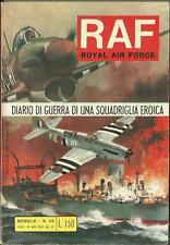 RAF Royal Air Force - Collana Joe Missouri n° 69 - guerra (Bianconi, 1971)