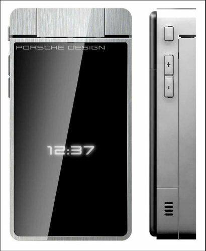 Porsche Design P'9521 - Schwarz/ Silber von Vodafone (Ohne Simlock) Klappandy