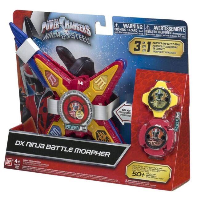 Power Rangers 43500 Morpher Ninja Steel Deluxe Toy