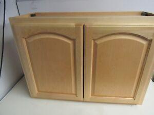 30 X 24 X 12 30 24 12 Kitchen Bathroom Wall Cabinet Solid Wood Birch Ebay