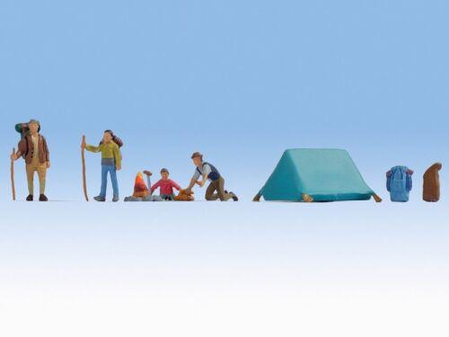 NOCH 15876 Spur H0 Figuren Camping #NEU in OVP##
