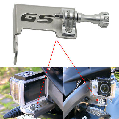 Compatible with BMW R1200GS LC 2013-2016 R1200GS LC ADV 2014-2016 Motorcycle Front Left Bracket Stand for Go Pro Camera