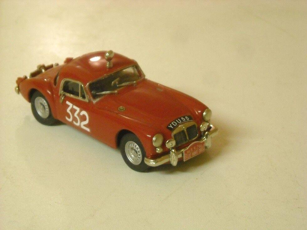 MGA Coupé Rallye Monte Carlo 1960 Ward coton 1 43rd Scale k&r replicas