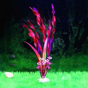Soigneux Aquarium Plante Aquatique 31 Cm Rouge/rose 24hr Rapide Dispatch From The Uk Rpl01-afficher Le Titre D'origine Soulager Le Rhumatisme