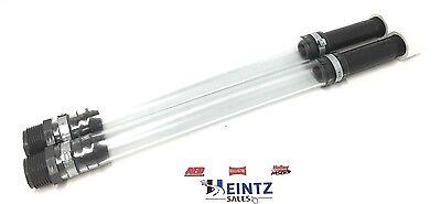 VPF-3044 VP Racing Fuel Jug Filler Hose-Flexible Filtered Gas Filler Line-2 PACK