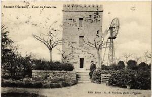 CPA SAUSSAN Tour du Castellas (687044)