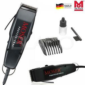 Moser 1400 Rasoio Elettrico Tagliacapelli Barba Professionale Made In Germany