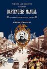 Bartenders' Manual: Mixellany Commemorative Edition by Harry Johnson (Hardback, 2010)