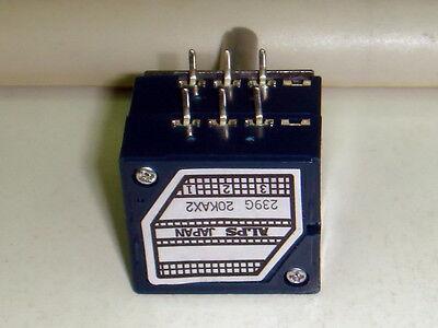 5 X KNURLED SHAFT ALPS RK27 SERIES 250K STEREO VOLUME CONTROL POT