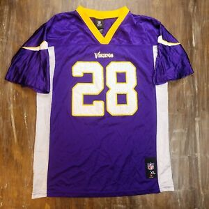 2a8dc6b47 Image is loading Minnesota-Vikings-Adrian-Peterson-NFL-Football-Jersey-28-