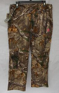 cdd44be4cda4b Details about New Women's Game Winner Hill Country Twill Camo Pants  RealTree Xtra Size 2XL
