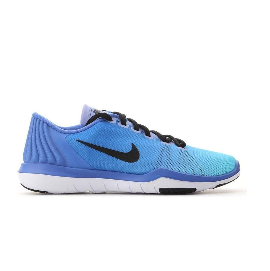 Womens NIKE FLEX SUPREME TR 5 Medium bluee Trainers 898472 400