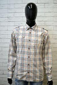 Camicia-Uomo-TOMMY-HILFIGER-Taglia-L-Maglia-Polo-Camicetta-Shirt-Men-039-s-Pois