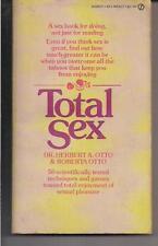 TOTAL SEX ~ SIGNET W5437 1973 10TH HERBERT & ROBERTA OTTO TECHNIQUES & GAMES