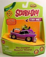 The Creeper Monster Hearse Scooby Doo Light & Sounds Vehicle Nkok Very Rare