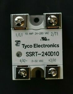 Tyco Electronics TE Connectivity SSRT-240D10 Solid State Relay New