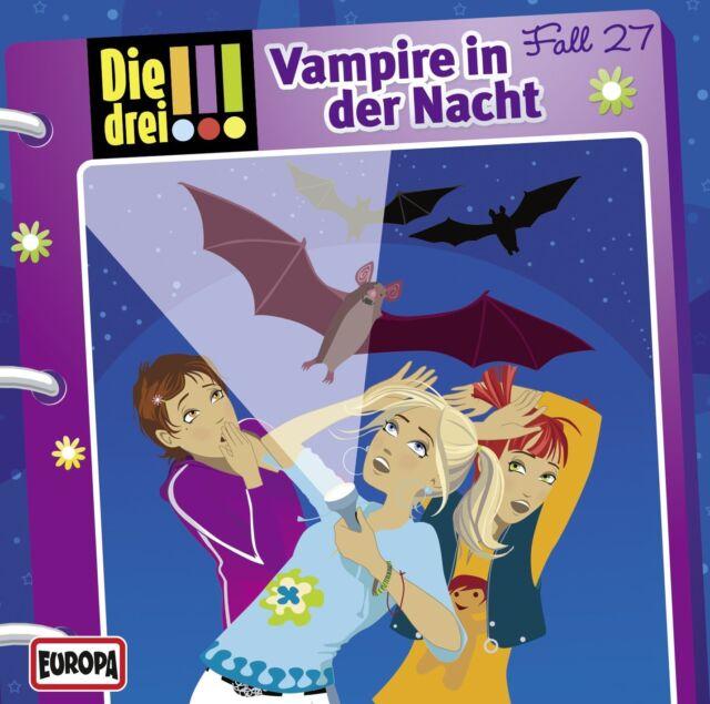 CD * DIE DREI !!! (AUSRUFEZEICHEN) - 27 - VAMPIRE IN DER NACHT # NEU OVP =