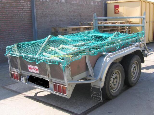 Anhängernetz Ladungssicherungsnetz Abdecknetz 1,5 x 2,7