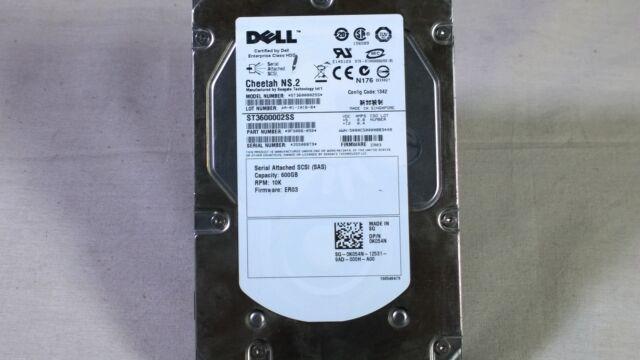 K054N DELL 600GB 10K 6G 3.5'' SAS HDD Grade B Label