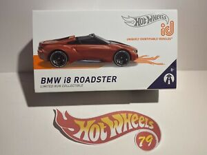 Hot Wheels ID Car BMW I8 Roadster Series 1 Limited Production VHTF
