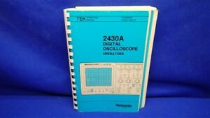 tektronix 2430a digital oscilloscope operators manual ebay rh ebay com
