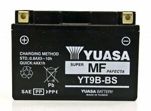 Yuasa Fresh Pack Maintenance-Free AGM Battery YUAM629B4 YT9B-BS