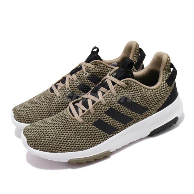 adidas CF Racer TR Trace Olive Cargo Black White Men Running Shoe Sneaker BC0020