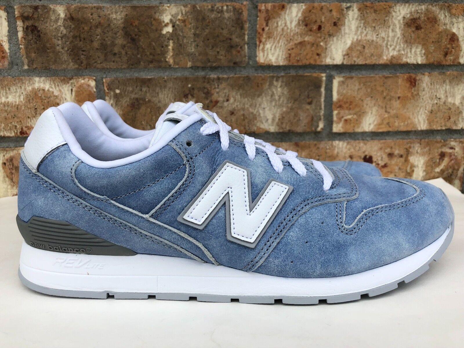 Para hombres 996 Revlite FL luz New Balance Azul blancoo Running Zapatos MRL996JX