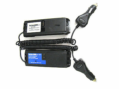 BE8299 Battery Eliminator Car Charger 12V for Motorola XTS3000 Model BZE8299