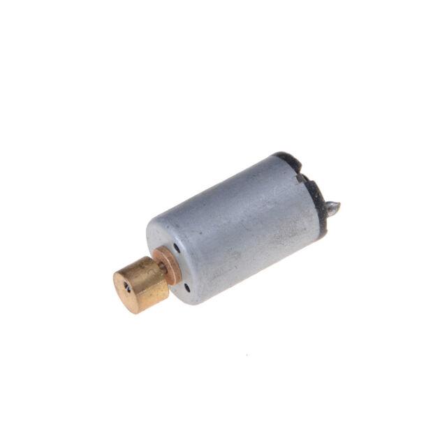 DC 1.5-6V 1750-7000RPM Output Speed Electric Mini Vibration Motor Silver+Gold PJ