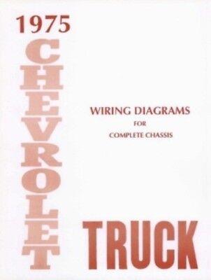 CHEVROLET 1975 Truck Wiring Diagram 75 Chevy Pick Up | eBay