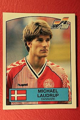 Panini EURO 88 N MINT CONDITION!!! 109 DENMARK BUSK WITH BACK VERY GOOD