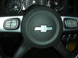 Chevrolet SSR Domed Bowtie Overlay for Steering Wheel
