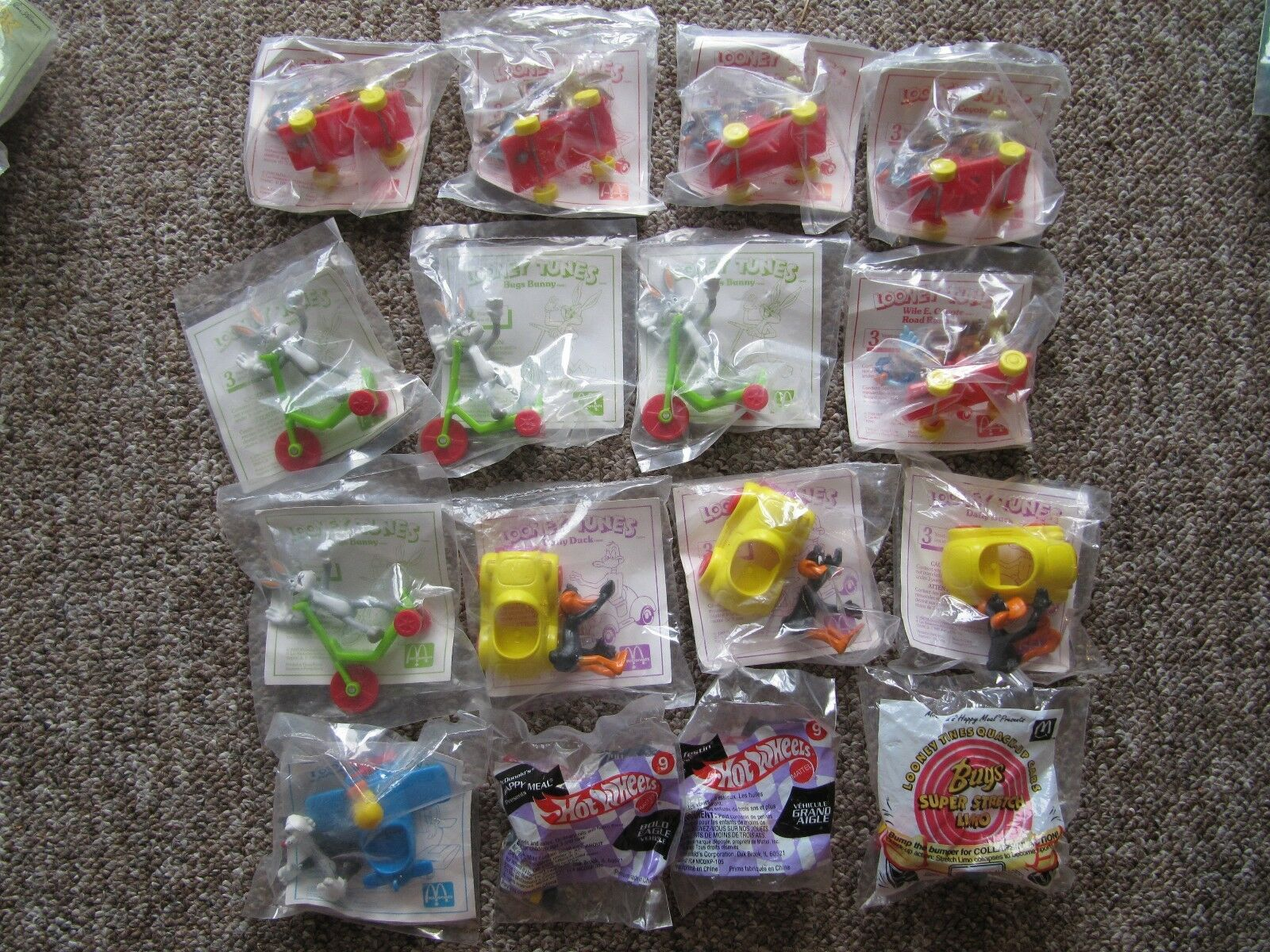 HUGE McDonalds Collection 1984-1993.  Toys, Happy Meals, coupons, CANADIAN