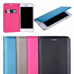 Similpelle-Stile-Libro-Folio-Cover-Custodia-Flip-per-Iphone-7-Iphone-8