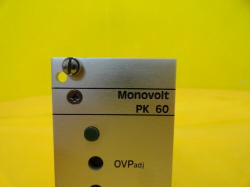 Vero 116-010074H Power Supply PCB Card MONOVOLT PK60-III CE//PF Used Working