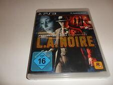 PlayStation 3 PS 3   L.A. Noire (uncut)