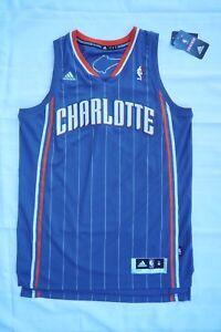 cff2878cf68 Image is loading NWT-Charlotte-Bobcats-Blank-NBA-Jersey-Gray-Adidas-