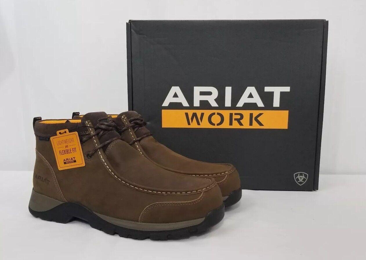 Ariat WORK Edge LTE Moc Work Boots 10024954. Composite Toe. Men's 11.5 EE