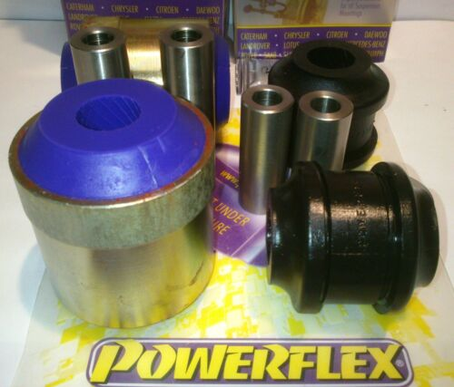 Hi va AUDI a4 b5 quattro s4 rs4 Powerflex pff3-202 4x PU-BOCCOLE braccio di controllo in