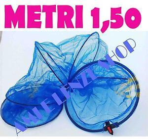 Borsa sacca porta nassa e reti da pesca gara plastica mare lago fiume portapesce