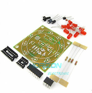 2PCS-Electronic-Lucky-Rotary-Suite-DIY-Kits-Production-Parts-Lucky-Rotary