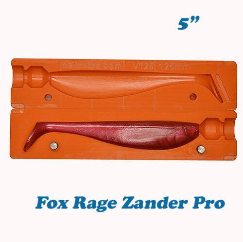 Lure Bait Mold Fox Rage Zander Pro Moule Gießform für Gummiköder 125 mm CNC Mold