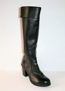 Wittner-Brand-Womens-Black-FOR-LOVE-Leather-Knee-High-Boots-Size-37-LIKE-NEW