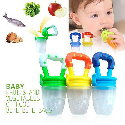 Baby Kid Infant Nipple Fresh Food Milk Nibbler Feeder Feed Tool Safe Supplies