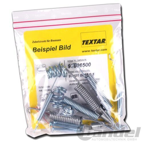 TEXTAR MONTAGE-SATZ für  Feststellbremsbacken HINTEN   97034500